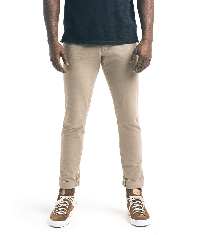 Good Man Khaki Mens 33X34 4-Way Stretch Casual Pants