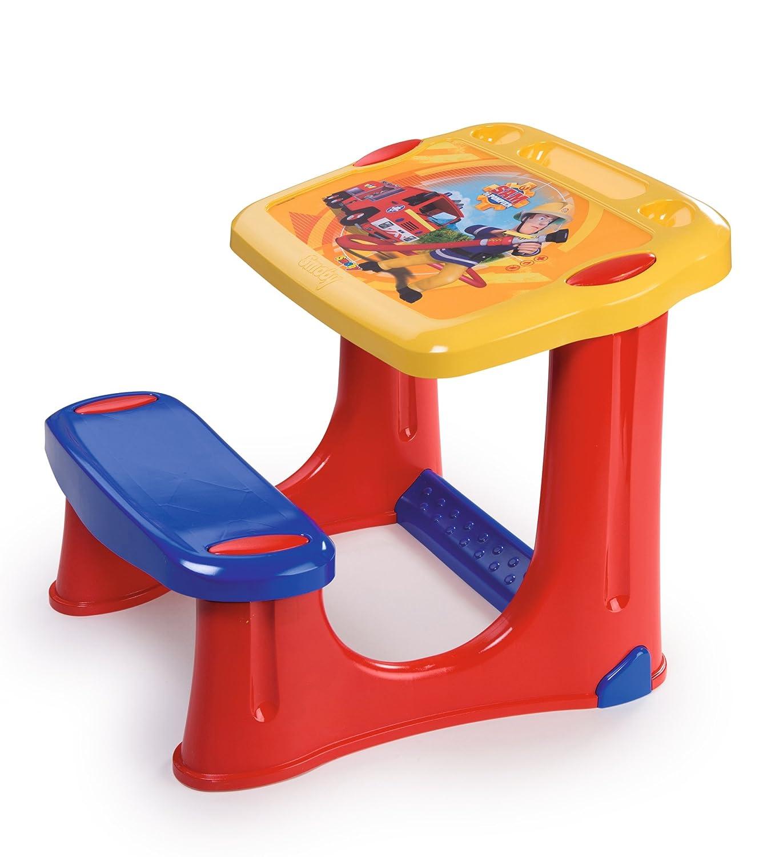 Smoby 7600420205 Banco Scuola con Accessori Sam Il Pompiere Simba Toys Italia S.p.A.