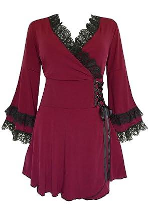 e6057b94e7 Amazon.com  Dare to Wear Gothic Boho Women s Plus Size Victoria ...