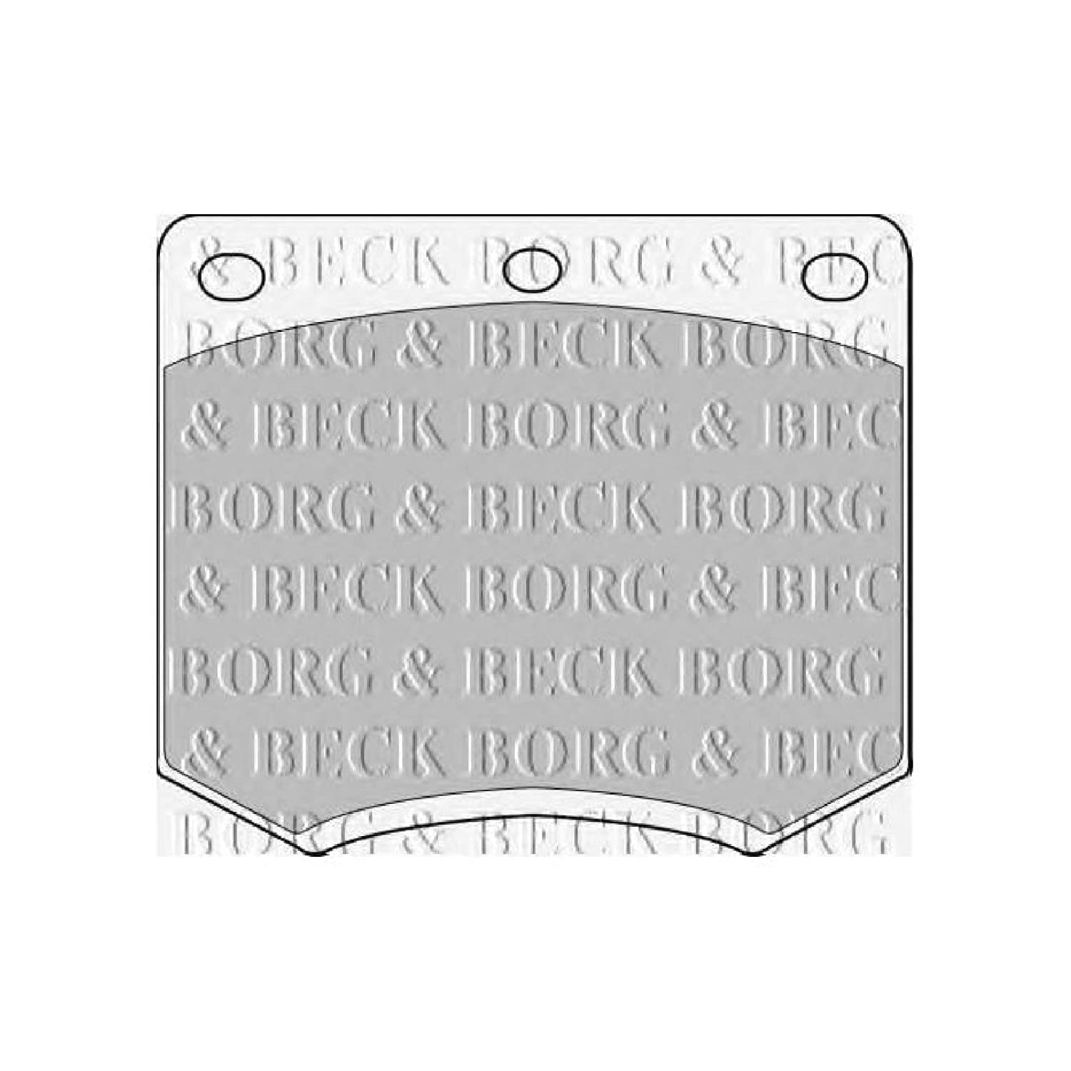 Borg /& Beck BBP1855 Front Brake Pads Lucas - Girling Includes Wear Indicators//Leads