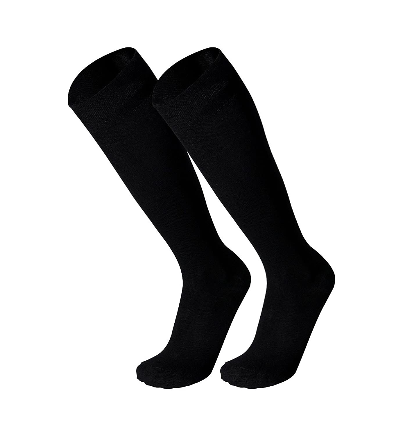 8d747ed3138 Tobeni 3 Pairs of Bamboo Knee-High Socks Antibacterial without Rubber for  Women and Men  Amazon.co.uk  Clothing
