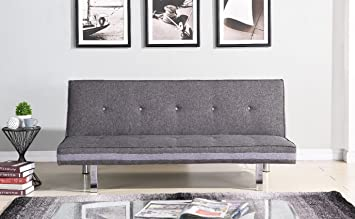 EBS My Furniture Grau Klappsofa Couch Schlafsofa Sofa im ...