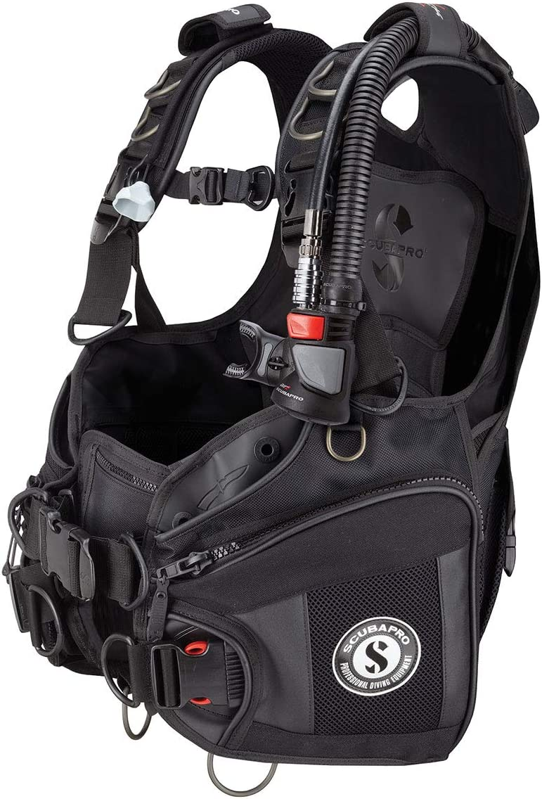 Scubapro X-Black BCD Buoyancy Compensator Device with Air2
