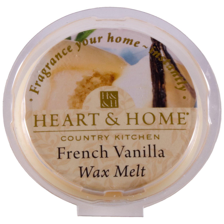 Heart & Home Wax Tart Melt Home Fragrance - French Vanilla