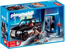 Playmobil- Thief with Safe and Getaway Car Ladrón de Caja Fuerte ...