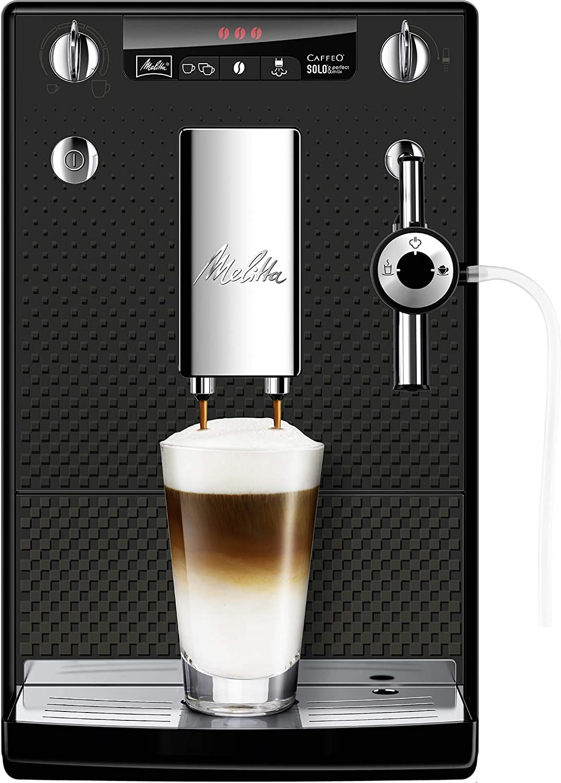 Melitta Caffeo Solo&Perfect Milk E957-305, Cafetera Automática con Molinillo, Auto Capuchinador, Café en Grano, Limpieza Automática, Personalizable, Edición Deluxe: Amazon.es: Hogar