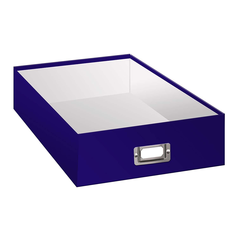 Pioneer Photo Albums Jumbo Scrapbook Storage Box Purple