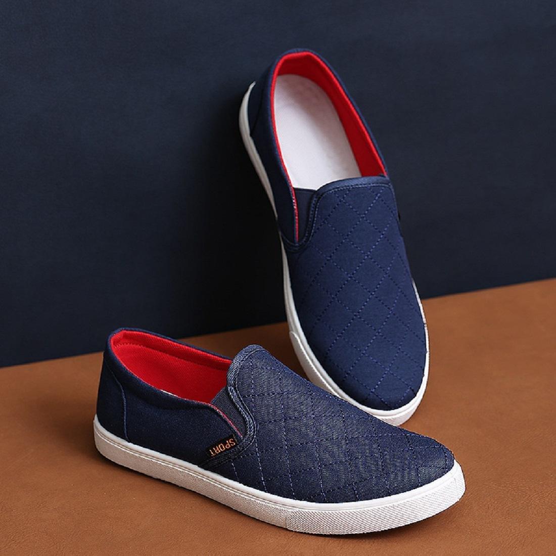 Men's Canvas shoes Leisure shoes Light Comfortable Home Casual shoes Flat  shoes EUR SIZE 39-44: Amazon.co.uk: Sports & Outdoors