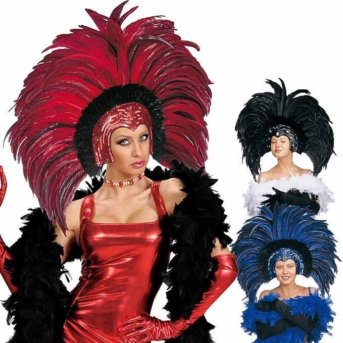 Brasilianischer Feder Kopfschmuck Karneval Federkopfschmuck Drag Queen Travestie