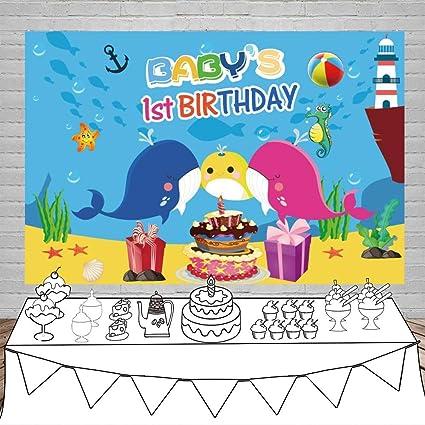 AdaCrazy Bebé 1er cumpleaños Fiesta 5x3 pies Fotografía ...