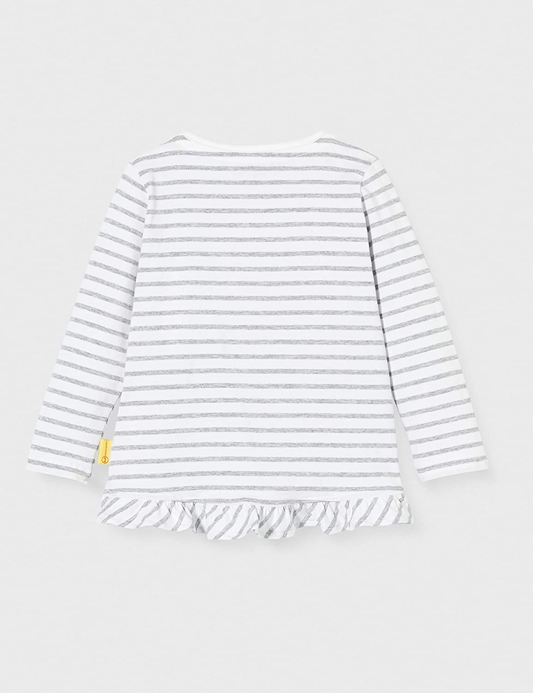 Steiff M/ädchen T-Shirt Longsleeve Langarmshirt