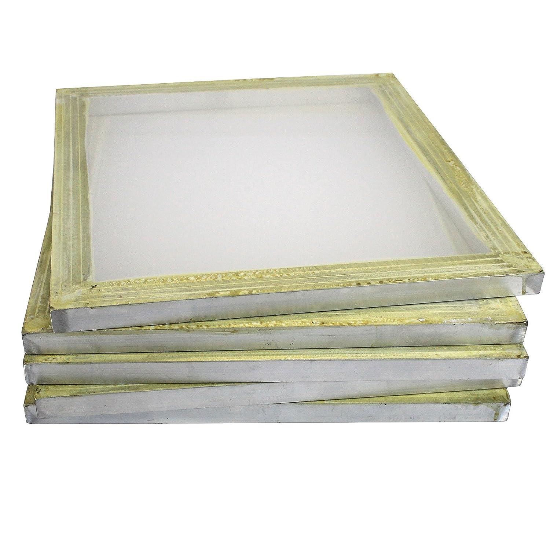 Commercial Bargains 6 Aluminum Silk Screen Printing Press Screens 156 Frame Mesh 18