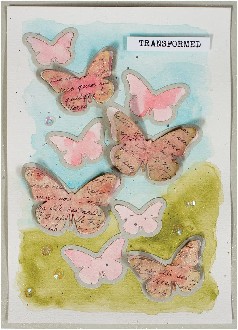 Spellbinders Shapeabilities Die Cascading Butterflies S5-242
