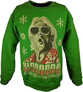 Amazoncom Macho Man Randy Savage Ugly X Mas Madness Red Christmas
