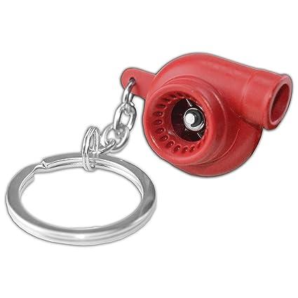 Amazon.com: Red Metal Spinning Turbo Bearing Keychain Key Ring/Chain Atv/Utv Q1 for Arctic Cat Wildcat X 1000: Automotive