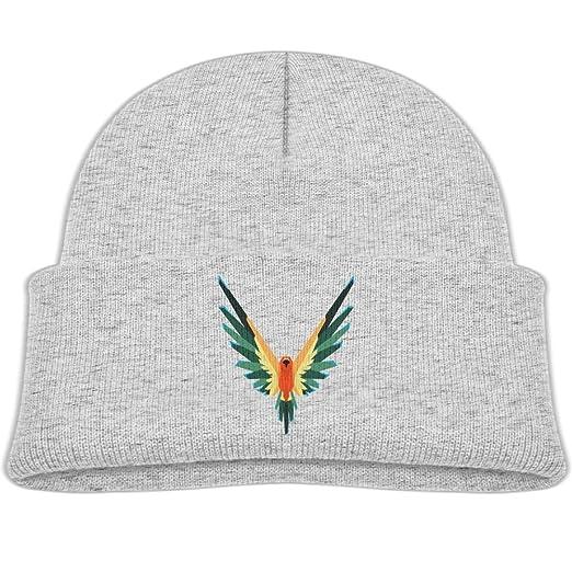 cedd16471 Amazon.com  Parrot Logo Cotton Comfort Beanies Warm Fleece Lined Cap ...