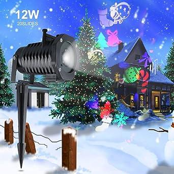 Projecteur laser exterieur noel amazon for Projecteur laser multicolore