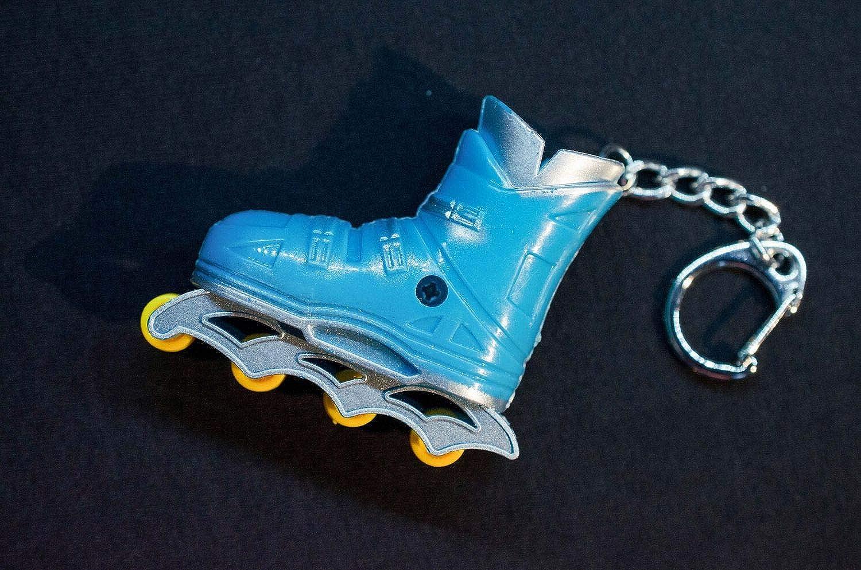 Patines de Patines Patines en línea llaveros Miniblings Azul ...
