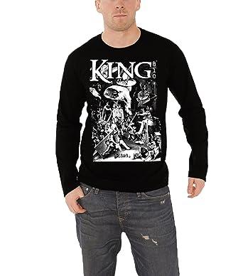 King 810 T Shirt Herren Schwarz Death Garden Band Logo Nue Offiziell