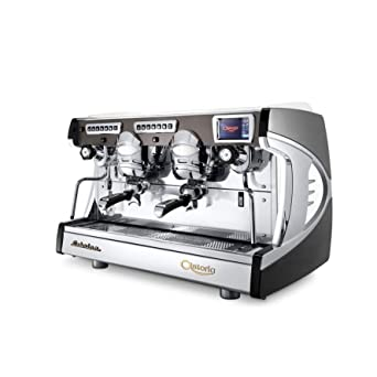 Astoria Sabrina Automatic Cool Touch 2 Group Espresso Machine Auto-Steam Black