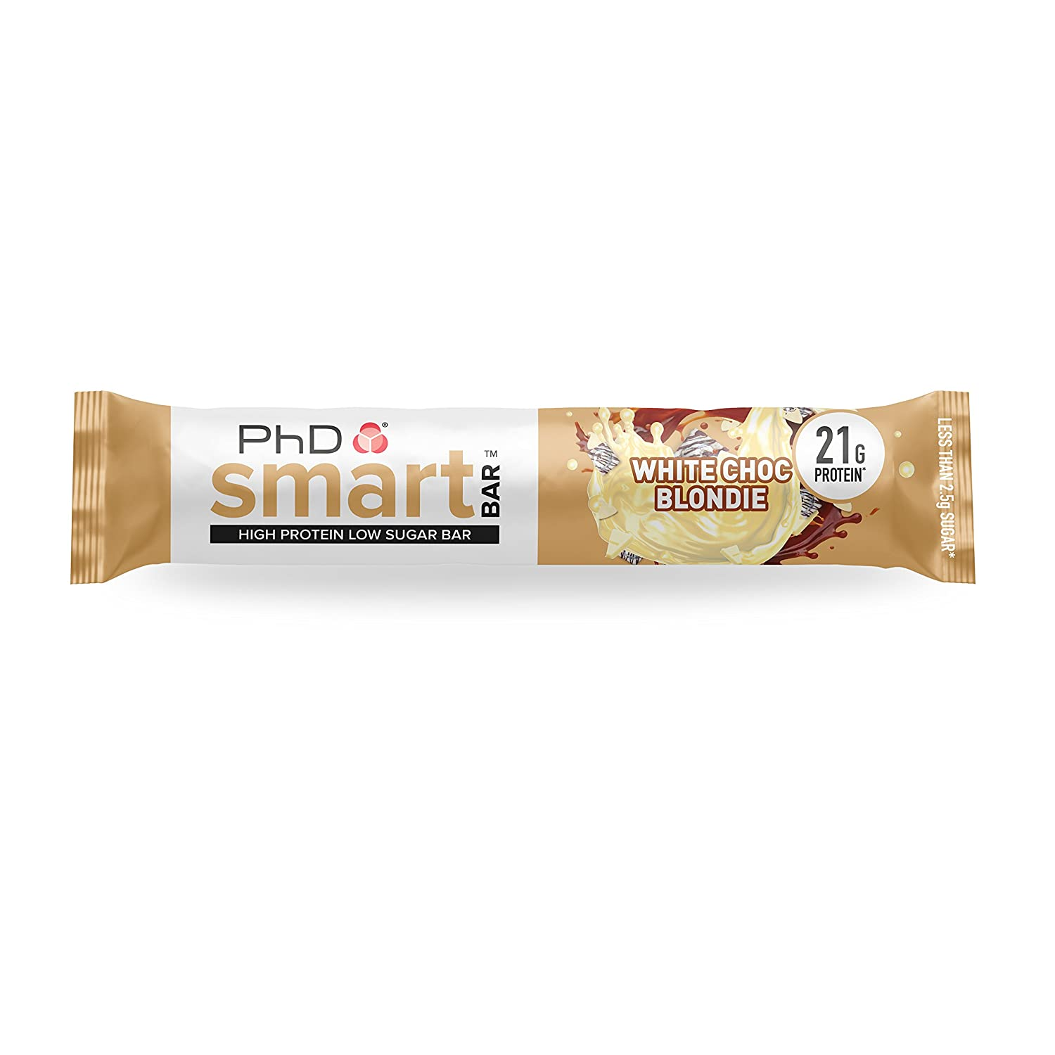 PhD Smart Bar White Chocolate Blondie - 12 Barras: Amazon.es: Salud y cuidado personal