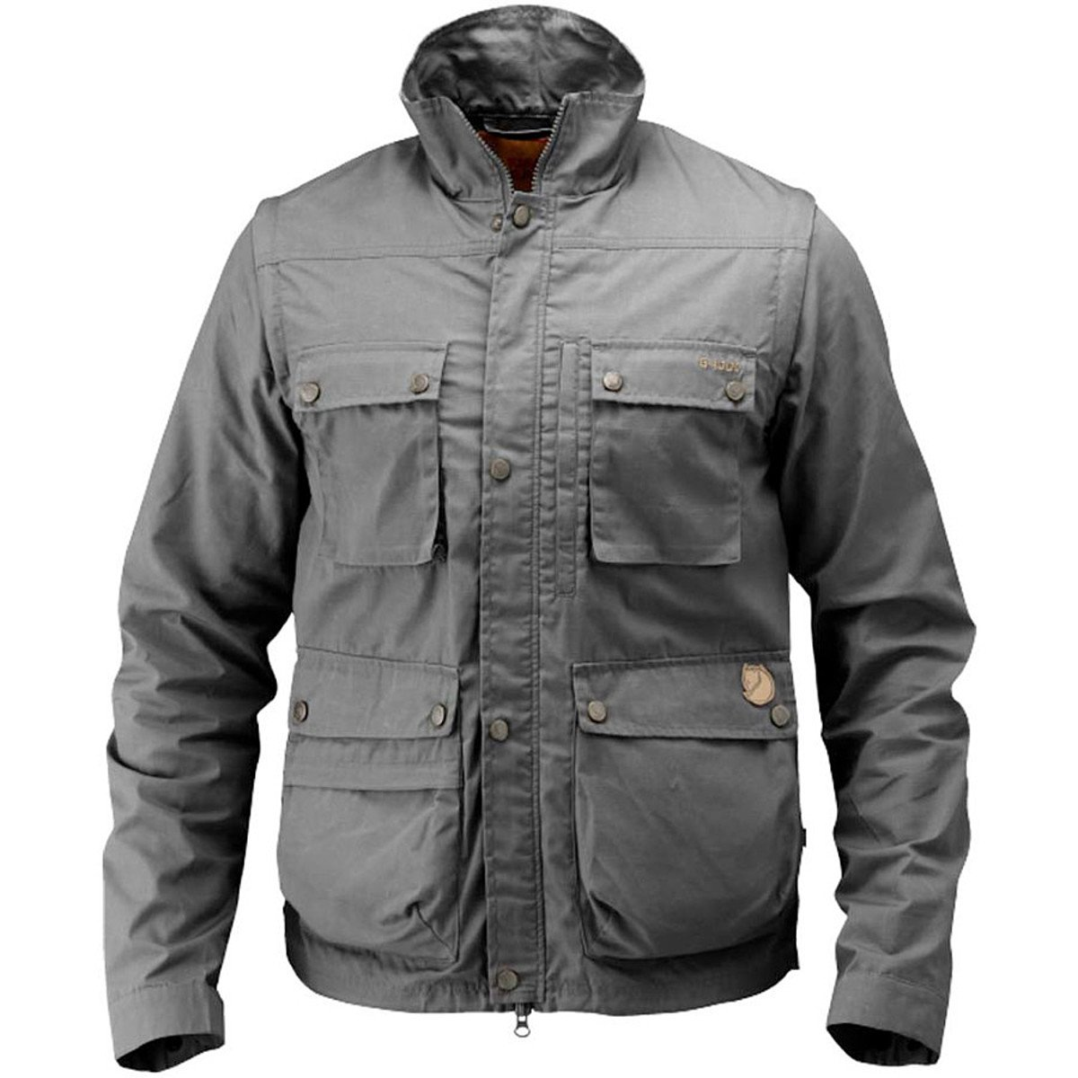 Fjallraven Men's Reporter Lite Jacket, Dark Grey, Large