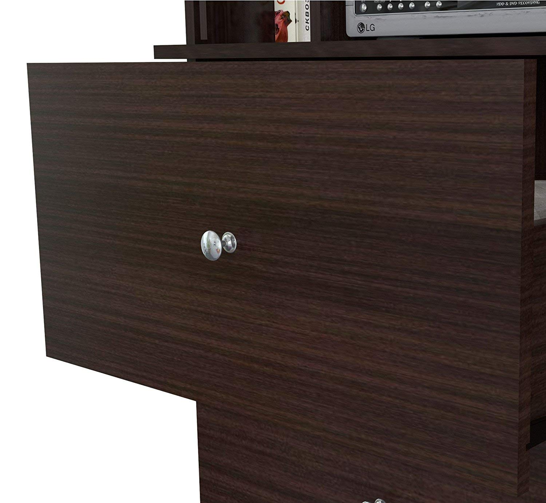Inval America Wood Armoire Audio/Video Combo, Espresso-wengue by Inval