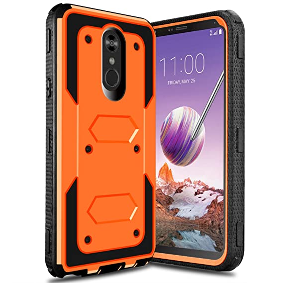 hot sales da41d ec3d0 LG Stylo 4 Case, LG Stylus 4 Case, LG Q Stylo Case, lovpec Full Body Heavy  Duty Shockproof Armor Rugged Protective Case Cover for LG Stylo 4+/LG Q ...