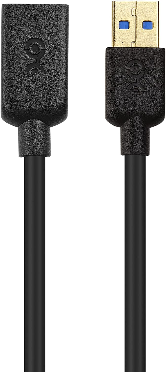 in Black 1m Cable Matters USB to USB Extension Cable USB 3 Extension Cable//USB Extension Lead