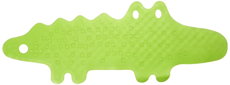 Ikea Alfombrilla para Bañera Cocodrilo, Caucho, Verde, 93x34x3 cm PATRULL