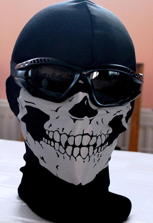 GEAR - BALACLAVA MASK GHOST SKULL - COD CALL OF DUTY GHOSTS MODERN ...
