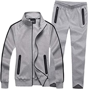 Modern Fantasy Women's Active Tracksuit Seamless Pocket Jogging Jacket & Pants Set
