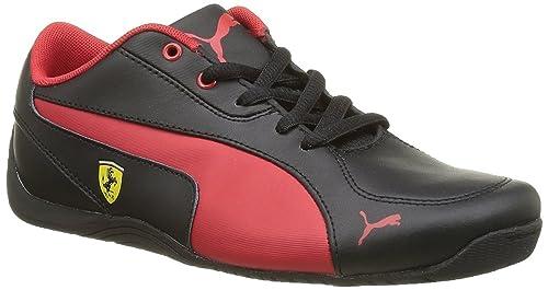 54ea8ab8011c Image Unavailable. Image not available for. Colour  Puma Drift Cat 5 L SF NU  Jr Black-Rosso Shoe