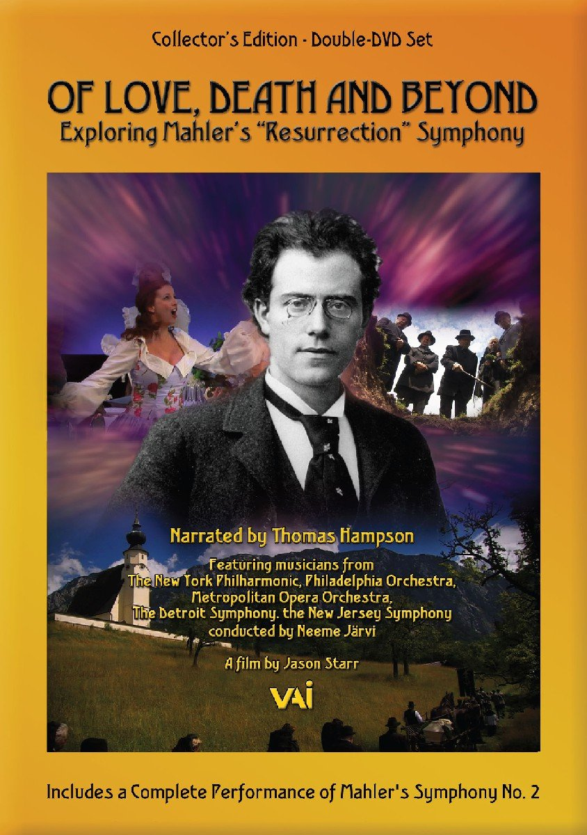 """Amazon.com: Mahler: Symphony No. 2 in C Minor """"Resurrection"""" / Of Love,  Death and Beyond: Exploring Mahler's """"Resurrection"""" Symphony: Craig  Rutenberg, ..."""