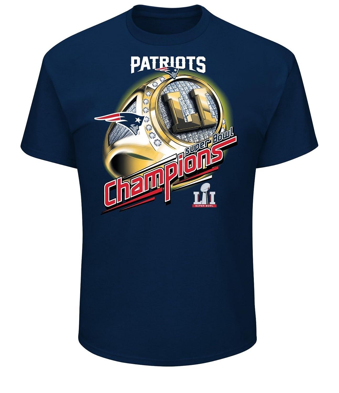 Amazon.com   NFL New England Patriots Men s Super Bowl LI Mark of Honor  Tee e398c8d1a