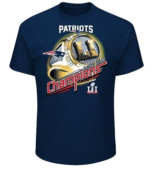 4892b6a1e Amazon.com   NFL New England Patriots Men s Super Bowl LI Mark of Honor Tee