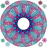 7TECH Drawing Gear Art Design Set Educational Spiral Interlocking Wheels toys for 8+