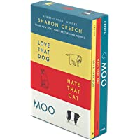Sharon Creech 3-Book Box Set: Love That Dog, Hate That Cat, Moo