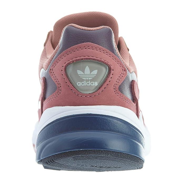 Adidas Women's Falcon in Raw PinkDark Blue, 9.5 9.5 M US