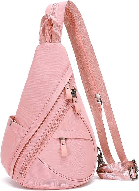 Small Crossbody Backpack Shoulder Casual Daypack Multipurpose Rucksack for Men Women Outdoor Cycling Hiking Travel Sling Bag