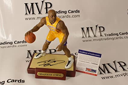 3712e85b572 PSA DNA Authentic SHAQUILLE O NEAL Autograph L.A. Lakers Limited Edition  Statue Figure