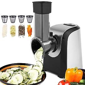 Hauture Professional Salad Maker, Electric Slicer Shredder,Chopper