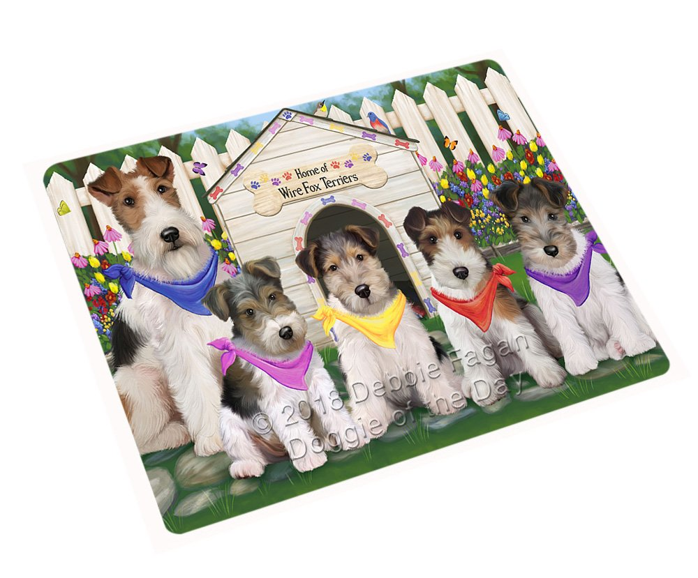 """Spring Dog House Wire Hair Terriers Dog Large Refrigerator/Dishwasher Magnet RMAG73488 (18"""" x 24"""")"""