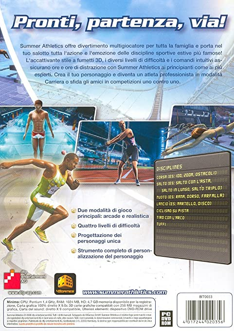 Amazon.com: Summer Athletics (IT) [Italian Version] by ...