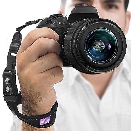 amazon com camera hand strap rapid fire heavy duty safety wrist
