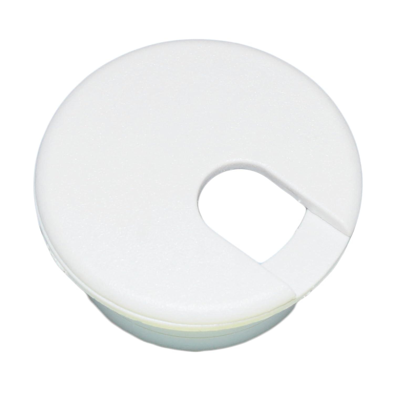 """1-1/2"""" White Desk Grommet (1 pc.)"""