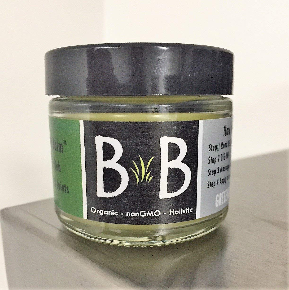 Hemp Balm - Muscles & Joints - 2 ounce - 10 Therapeutic Grade Essential Oils for pain and inflammation