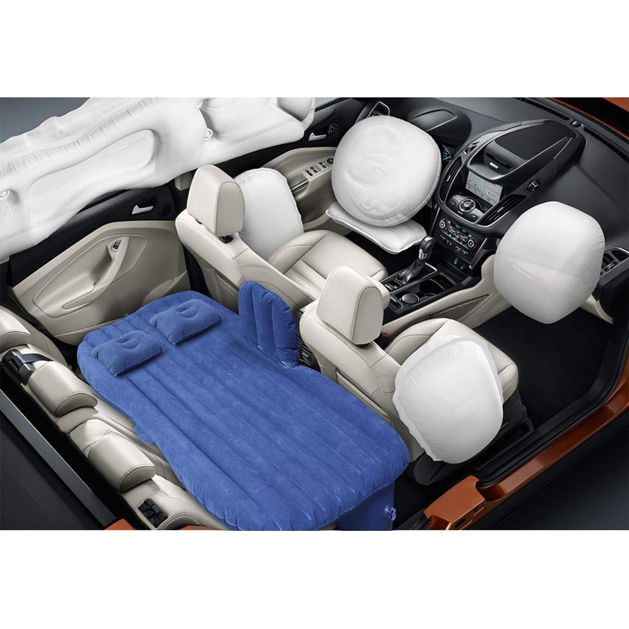 Auto Matratze Aufblasbares Beflockt Bett FBSPORT Durable Luftmatratze Auto Matratze aufblasbares Bett Air Bett f/ür Camping Outdoor