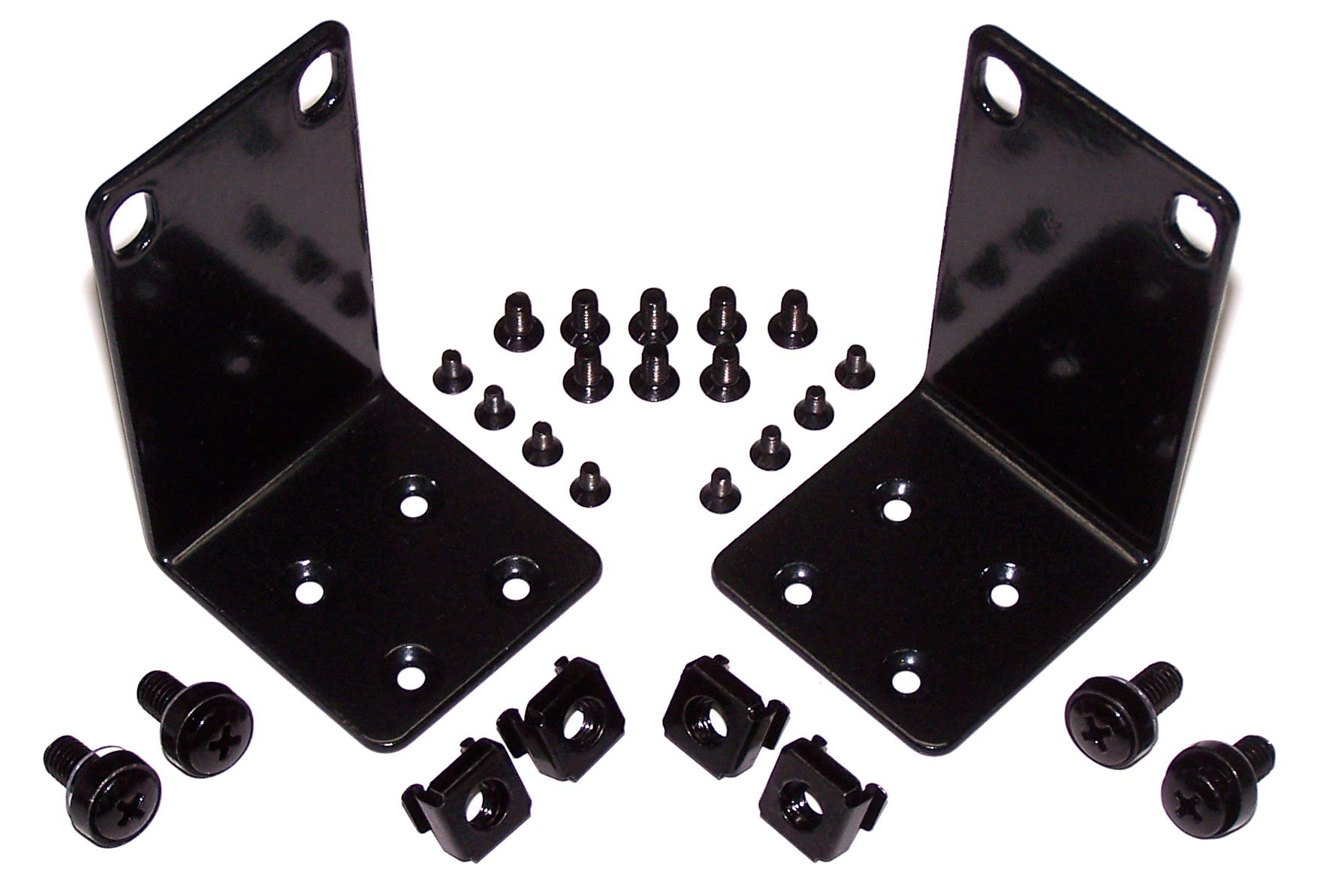 """magnaroute FX-13 Multi-Vendor Rack Mount Kit Compatible with Select 13"""" Wide NETGEAR and TRENDnet Products"""