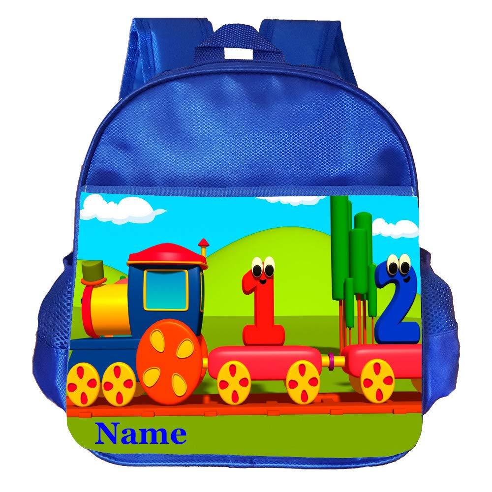 Little Train Personalised Customised Kids Toddlers Nursery School Bag Backpack